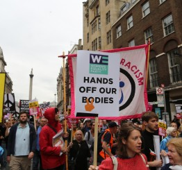 UK: Tens of thousands protest Trump's visit in London
