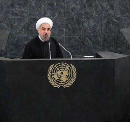 UN: Iranian President says US fighting terrorism with terrorism in Syria