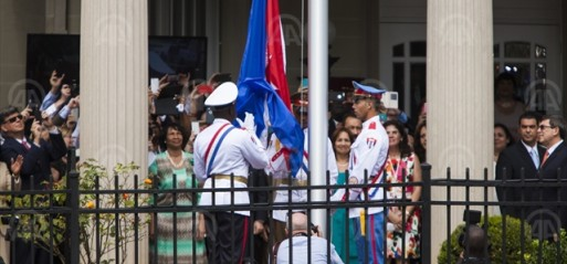 Cuba, US reopen embassies after 50-year hiatus