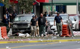 US: New York bombing suspect arrested after shootout