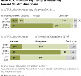 US Muslims concerned about their place in society under Trump