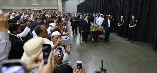 US: World bids farewell to Muhammad Ali in grand sendoff