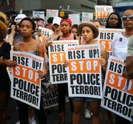 US on edge after police killings