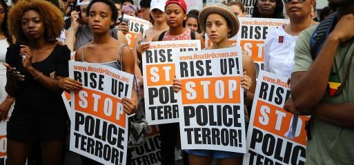 US on edge after police killings