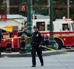 US: 8 dead in New York 'cowardly act of terror'