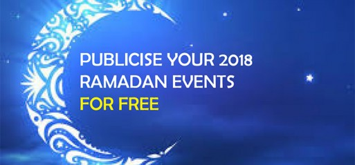PUBLICISE YOUR RAMADAN EVENTS FOR FREE