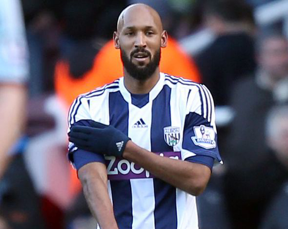 West Brom played Anelka despite charge
