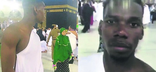 World's most expensive footballer performs Umrah