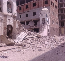 Yemen: Exclusive: 120-year-old Shi'a Muslim mosque bombed by Saudi airforce