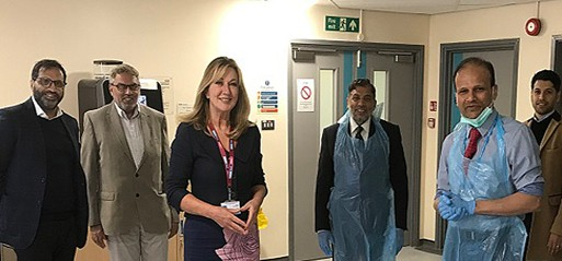 Covid-19: Muslim family donate over 5,000 antibody testing kits to Lancashire hospitals