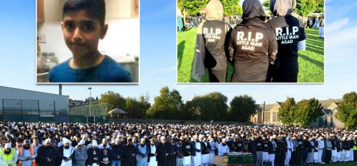 Thousands of mourners turn out for funeral of bullied 11-year-old