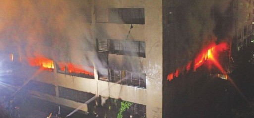 Bangladesh:8 killed in garment factory fire