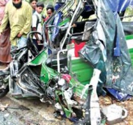 Bangladesh: Four die in Gazipur road crash