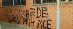 Mosque vandalised in Birmingham