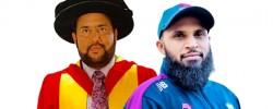 Bradford University bestows honorary doctorates on England cricketer & community activist