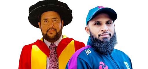 Bradford University bestows honorary doctorates on England cricketer & community activist