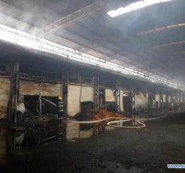 China: Death toll in Shenzhen market fire rises to 16
