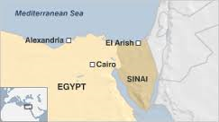 Egypt: Two police recruits killed in blast in Egypt Sinai