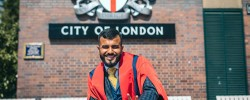 Hussain Manawer becomes Kings College London's youngest Honorary Fellow