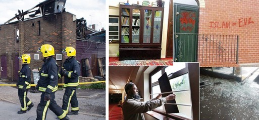 16 mosques and Islamic centres attacked in a spate of Islamophobic attacks