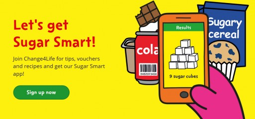 Parents can download free sugar app to check sugar content of products