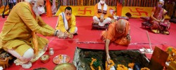 Modi laying foundation of grand temple on Babri Mosque site 'changed India into Hindu nation'