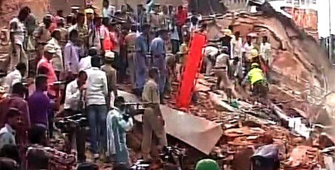 India: Nine dead in Secunderabad hotel building collapse