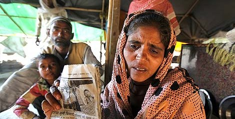 India: Hounded out of home, death stalks UP riots victims