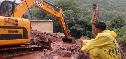 India: People in village near Pune slept in their homes as landslide buried them; 158 feared trapped