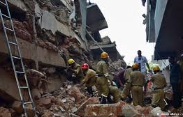 India: Building collapses in India, killing several people and trapping others