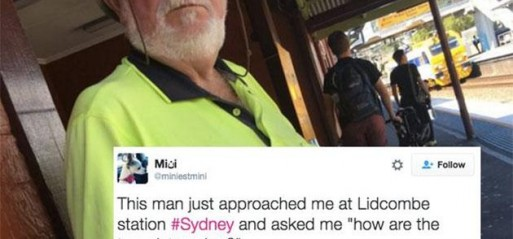 Sydney commuter probed about terrorism by fellow passenger