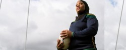 In conversation with trailblazing rugby player Zainab Alema
