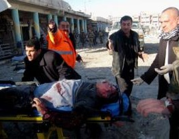 Iraq bombing wave kills more than 60, mainly Shi'a Muslims