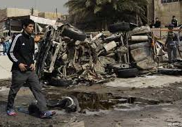 Iraq: 66 mainly Shi'a Muslim pilgrims killed by car bombs across Iraq