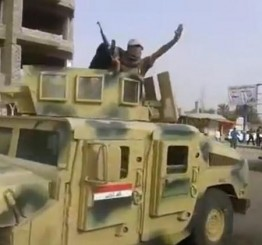 Iraqi troops push ISIS out of oil refinery town