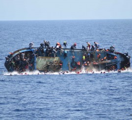 Italian navy recovers 45 bodies from Mediterranean