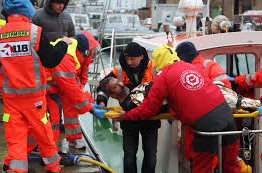 Italy:Two dead in merchant vessel collision