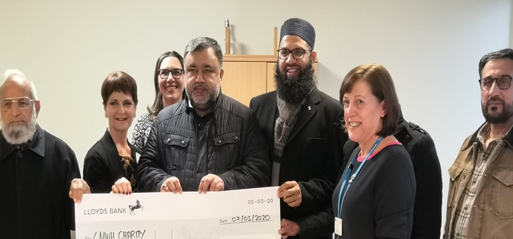 Harrow Central Mosque donates £11k to hospital