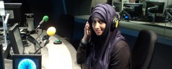 Mother-of-five becomes first hijab wearing reporter on Scottish TV