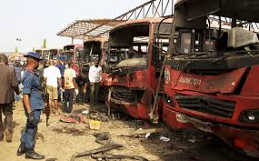 Nigeria: Dozens killed in bus station blast outside Abuja