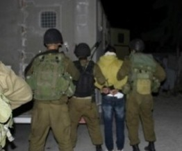 Palestine: 12 Palestinians kidnapped by Israeli forces in W Bank & Jerusalem
