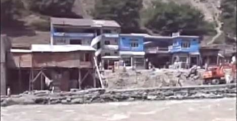 Pakistan: Flood in Swat washes away 10 houses