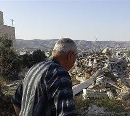 Palestine: Family of six made homeless by Israeli demolition