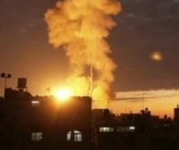 Palestine: Israeli army carries out dozens of air strikes against Gaza
