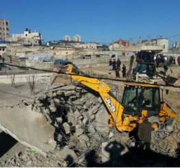 Palestine: Israeli army demolishes home in l-'Eesawiyya