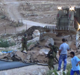 Palestine: Israeli forces demolish structures in south Hebron Hills