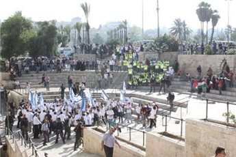 Palestine: Israeli forces violently disperse protest in Jerusalem