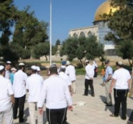 Palestine: Israeli settlers, escorted by Israeli soldiers, storm Al-Aqsa Mosque