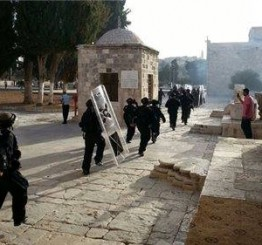 Palestine: Dozens suffer effects of teargas inhalation in Al-Aqsa Mosque