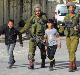 Palestine: Israeli soldiers kidnap 2 Palestinian children in Hebron